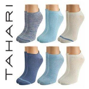 NWT Tahari Super Soft Socks - 6-Pk Shoe size:4-10